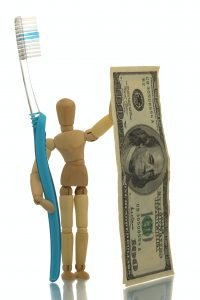 Avatar with Toothbrush and hundred dollars